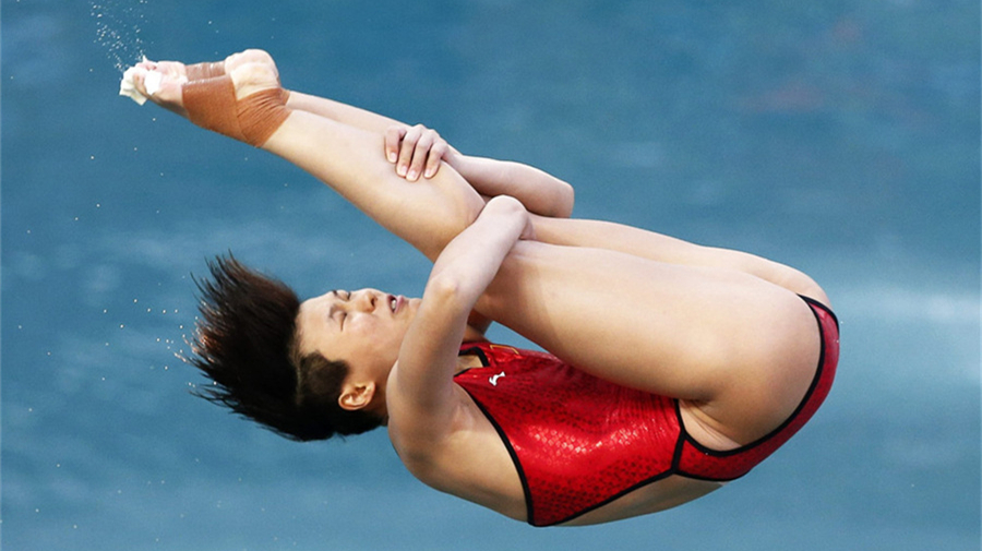JO-2016/Plongeon : Shi Tingmao remporte l'or au tremplin à 3m dames