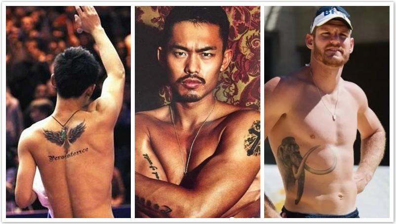 Photos : les tatouages les plus originaux des sportifs aux JO de Rio