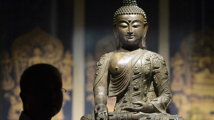Grande exposition de statues bouddhiques à Hangzhou