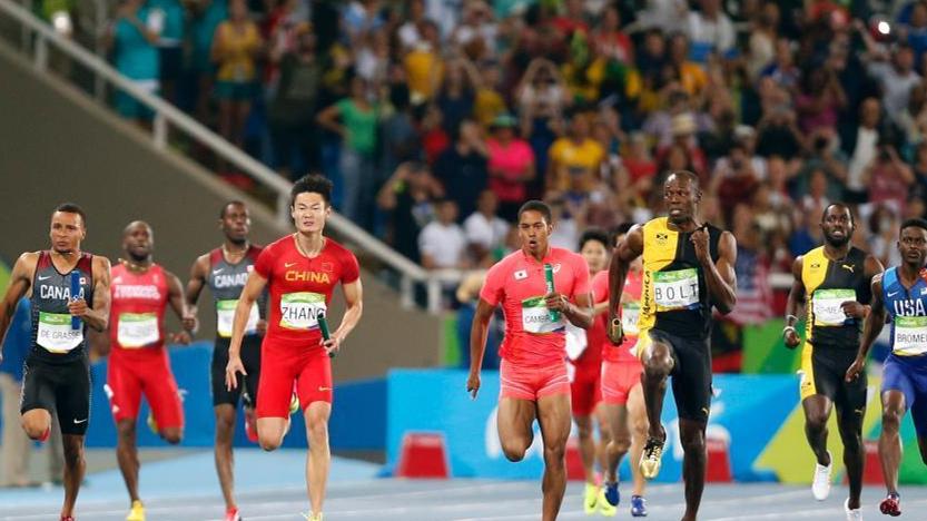 La Jamaïque remporte le 4 x 100 m messieurs devant le Japon, le Canada et la Chine
