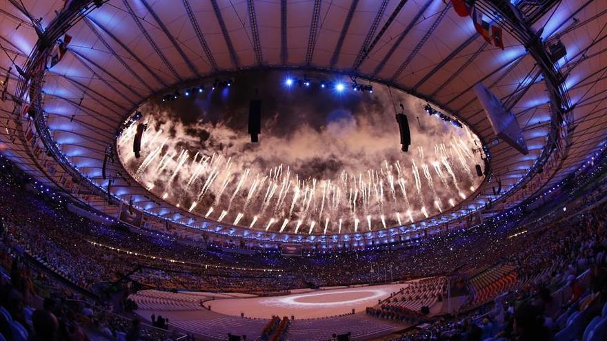 En images: cérémonie de clôture des Jeux olympiques de Rio