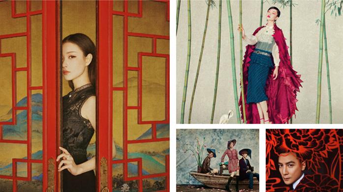 Quand la culture traditionnelle chinoise rencontre la photographie de mode