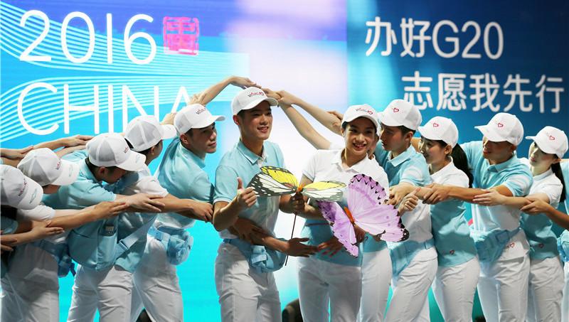 A Hangzhou, les bénévoles du G20 prêtent serment