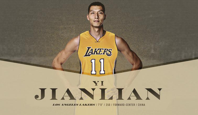 Basket : les Los Angeles Lakers officialisent la signature de Yi Jianlian