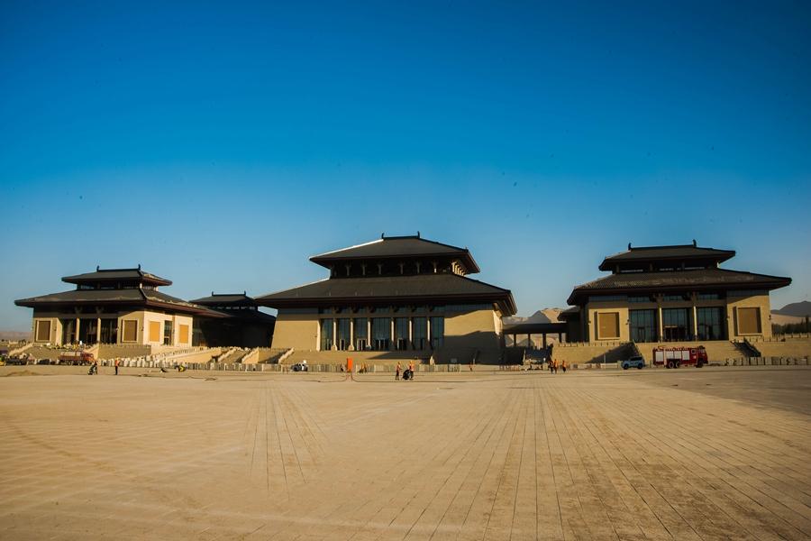 Les sites de l'Exposition internationale de la route de la soie