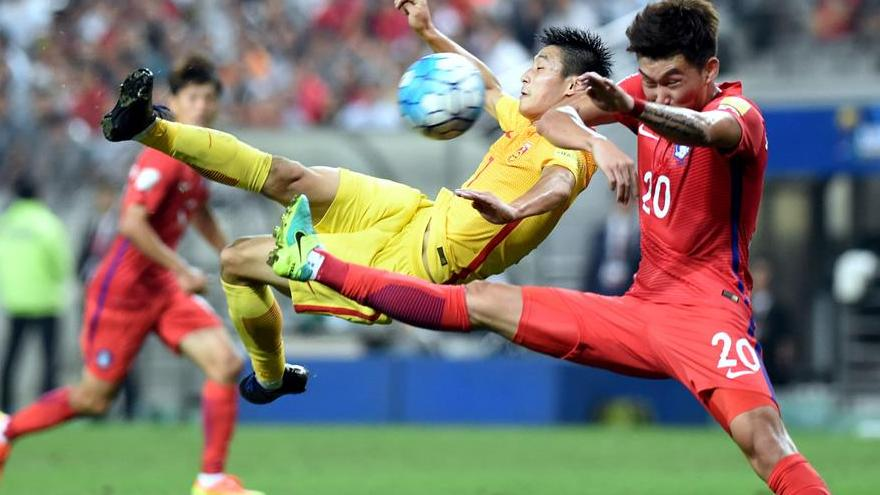 Mondial 2018qualification la chine s 39 incline face la - Qualification coupe du monde amerique du sud ...