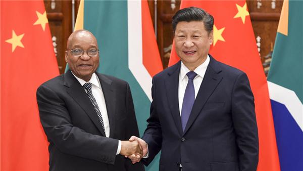 La Chine et l'Afrique du Sud renforceront leurs relations