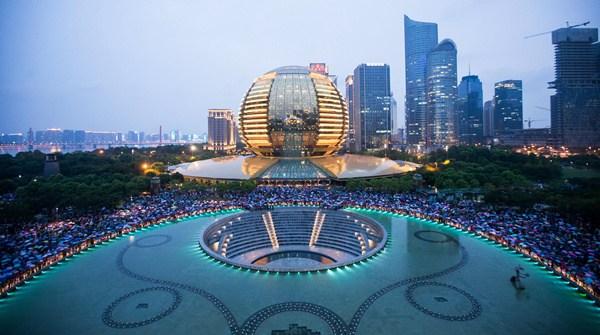Les touristes en masse à Hangzhou après le G20