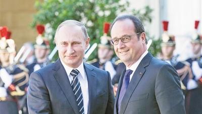 L'annulation du voyage de Vladimir Poutine à Paris signale une confrontation montante
