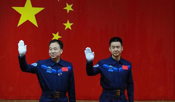 Rencontre entre les astronautes de Shenzhou-11 et la presse (vidéo)