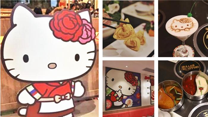 Le premier restaurant Hello Kitty de Shanghai désigné comme « le plus mignon » par les internautes