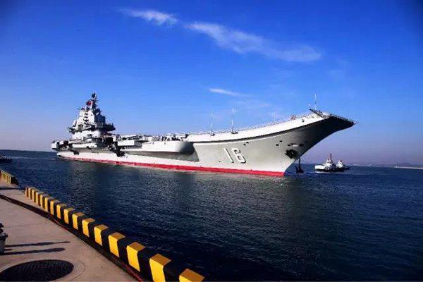 La vie à bord du porte-avions chinois Liaoning