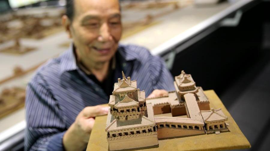 Un homme de 76 ans a consacré 16 ans à reproduire le palais impérial des Tang
