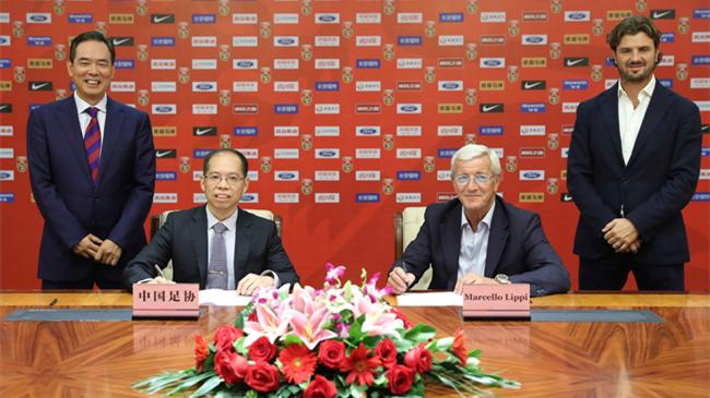 Marcello Lippi devient entraîneur de l'équipe nationale de Chine de football