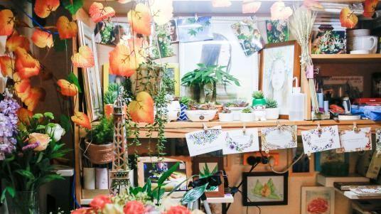 La décoration stupéfiante d'une chambre d'étudiants à l'Université de Xiangtan