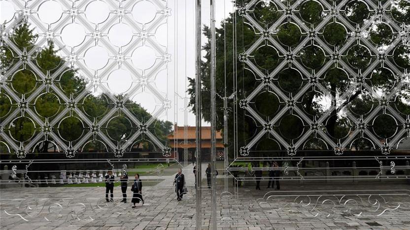 Nanjing : quand des installations artistiques modernes rencontrent des architectures anciennes