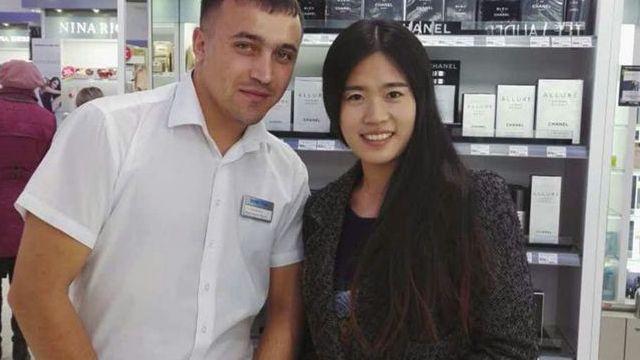 Zhang Fan, une étudiante chinoise agente d'achats à l'étranger en Russie