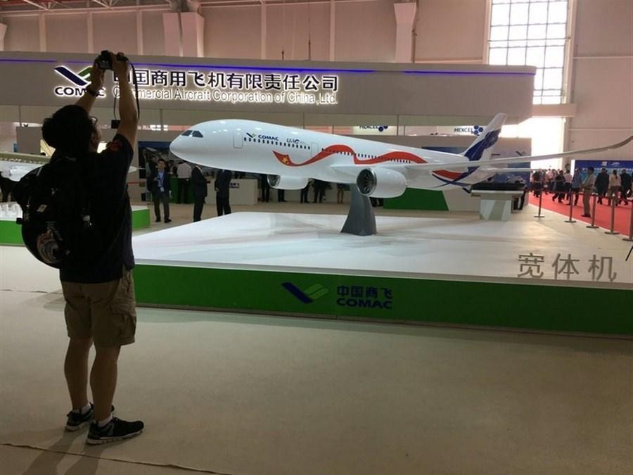 La Chine et la Russie dévoilent une maquette de leur avion long-courrier