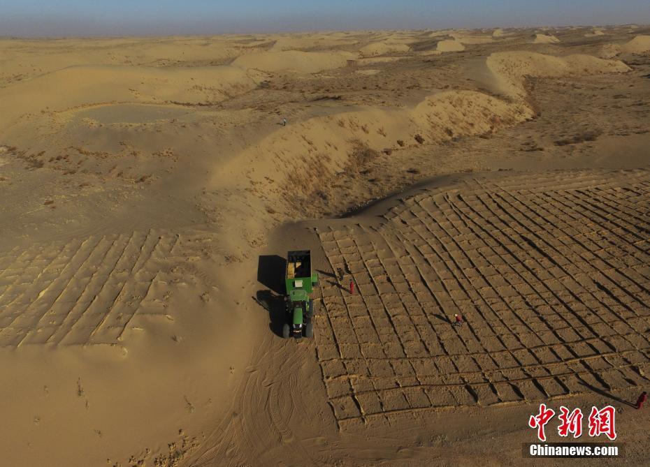 Gansu : les beaux paysages du désert de Tengger