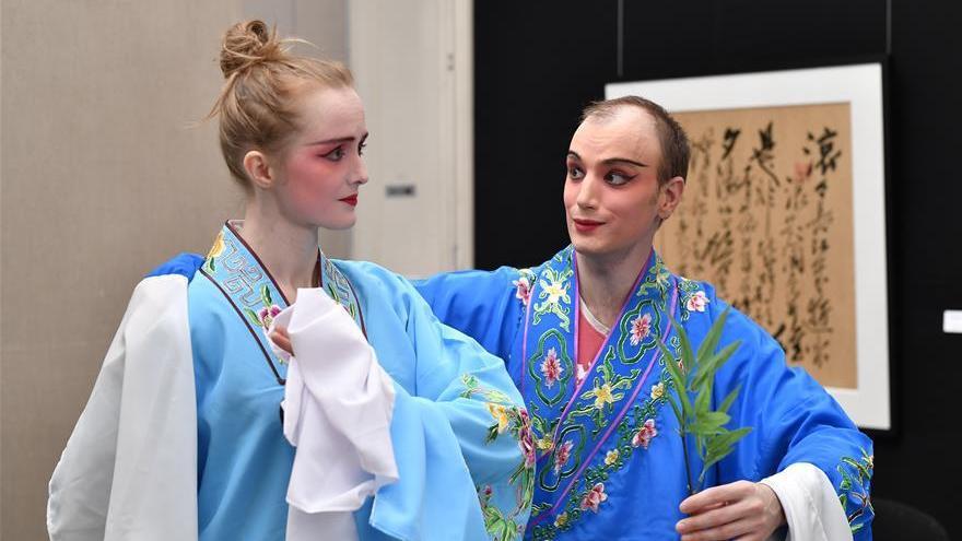 France : clôture du Festival de l'opéra traditionnel chinois à Paris