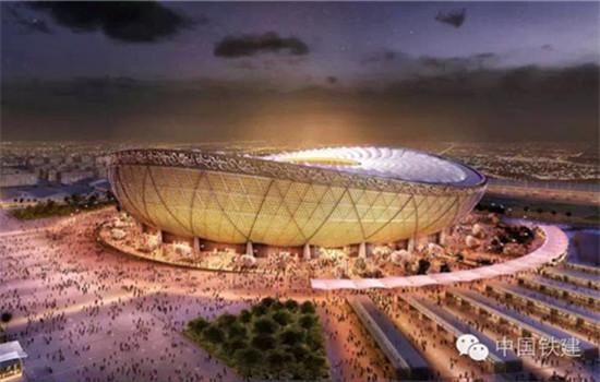 Coupe du monde 2022 construction chinoise pour le stade de lusail - Stade coupe du monde 2022 ...