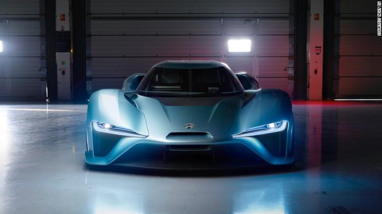L'entreprise chinoise NextEV crée la voiture électrique la plus rapide du monde