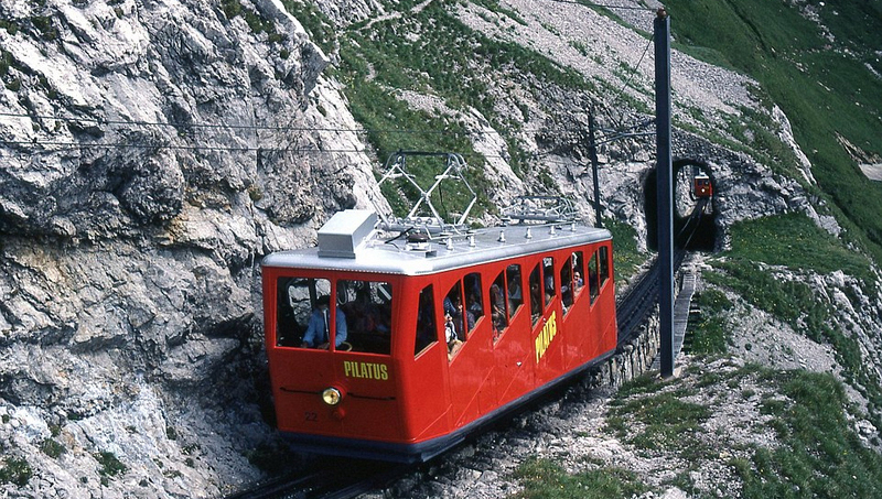 Le train à crémaillère du Pilatus : zéro accident en 120 ans !