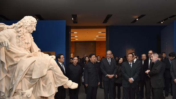 L'exposition 'L'invention du Louvre' a rendez-vous avec le public chinois