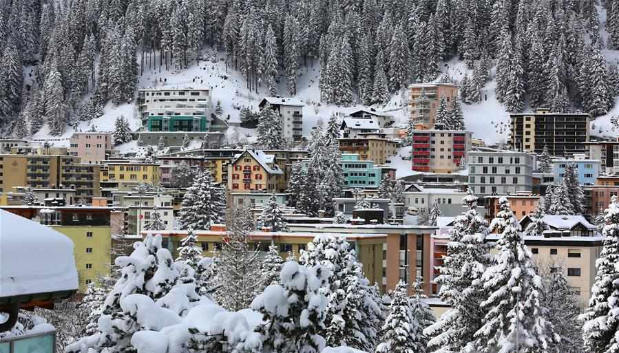 Galerie : Davos, la petite ville des neiges