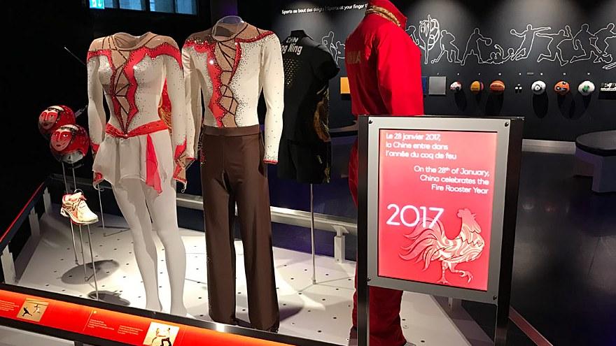 En images : le style chinois au Musée Olympique de Lausanne