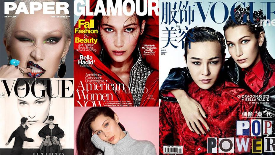 Bella Hadid sacrée top model de l'année 2016