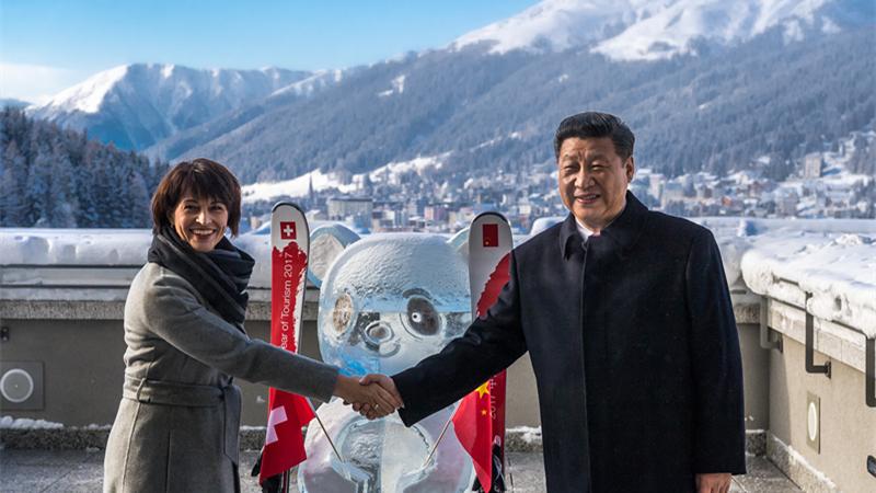 La Chine et la Suisse proclament 2017 Année du tourisme sino-suisse