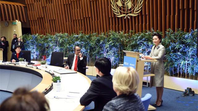 L'ONU salue le rôle de la première dame Peng Liyuan dans la lutte contre la tuberculose et le VIH/sida