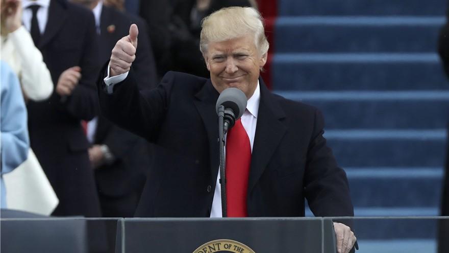 Donald Trump est officiellement devenu le 45e Président des États-Unis