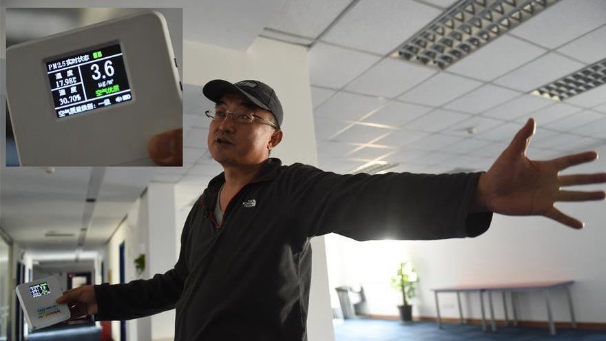 L'initiative d'un Chinois pour respirer un air meilleur