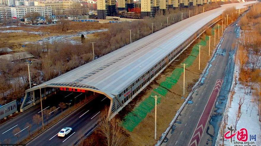 Shenyang mise en service de la premi re couverture de route visant r duir - Premiere mise en route piscine ...