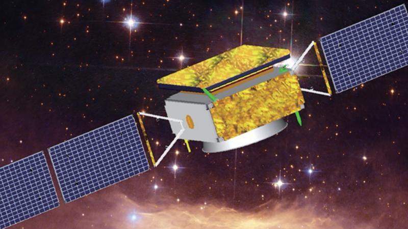 Observatoire spatial DAMPE (DArk Matter Particle Explorer)