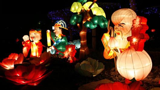 Admirer les lanternes