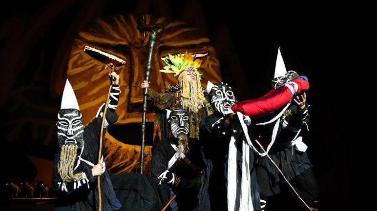 Un spectacle traditionnel de l'ethnie Yi présenté à Nice