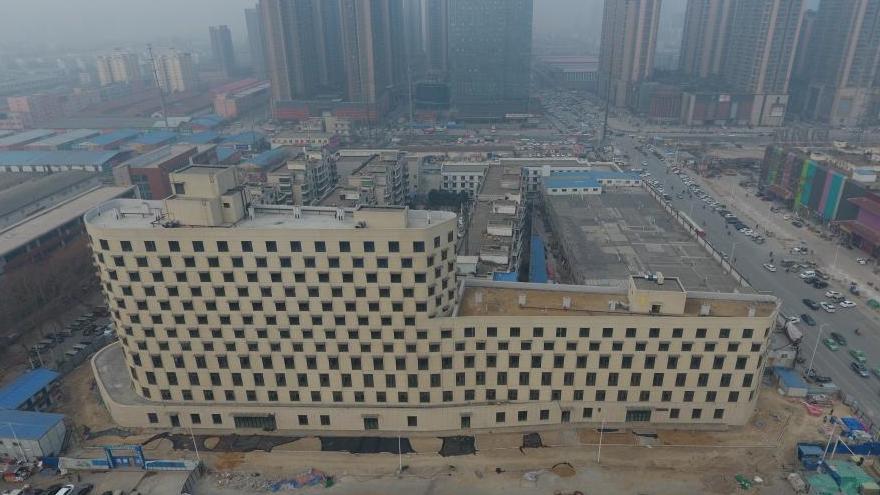Henan : un navire en centre-ville? Non non, juste un immeuble original