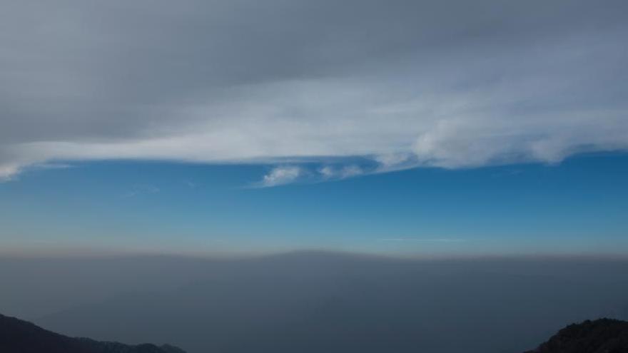 Shanxi : à la limite entre le smog et le ciel bleu