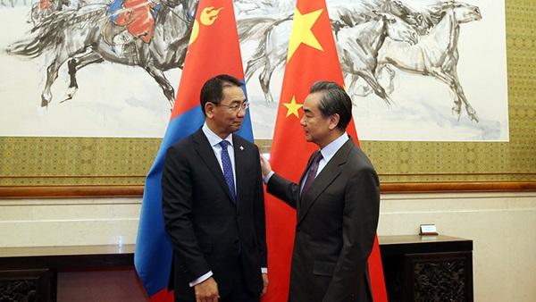La Mongolie va obtenir l'aide de la Chine