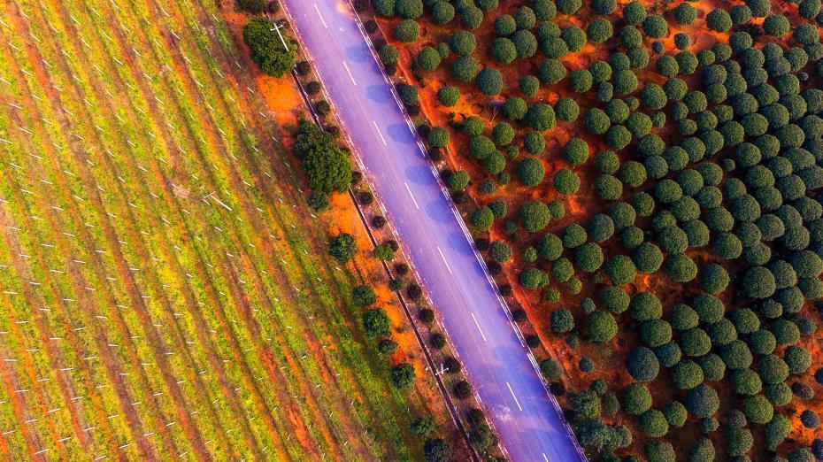 De magnifiques paysages du Jiangxi vus du ciel