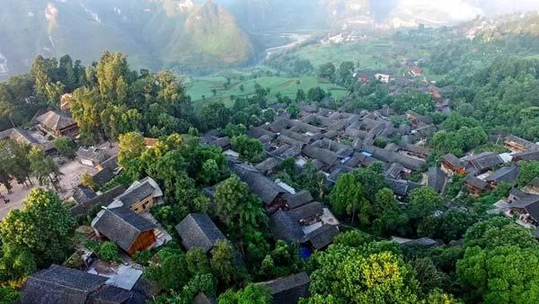 Un vieux village de 500 ans caché dans les montagnes du Guizhou