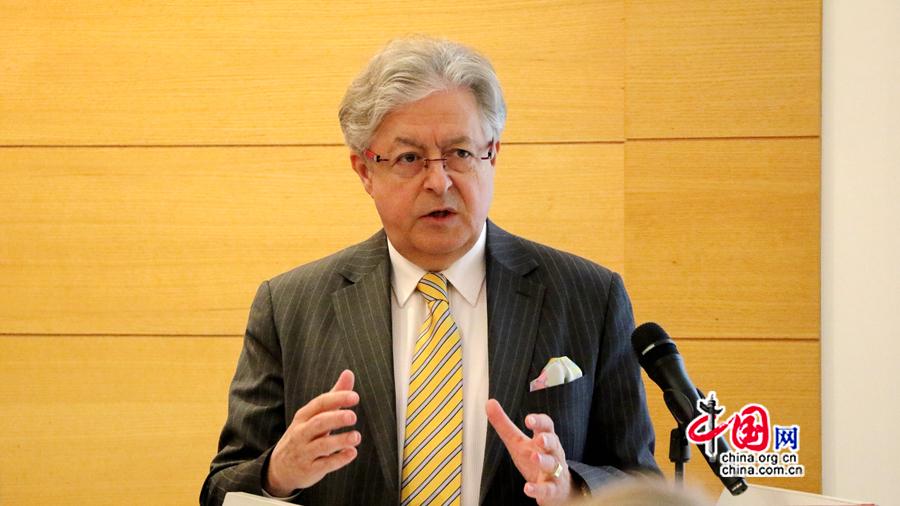 Jean-Jacques de Dardel : la Suisse très positive vis-à-vis du Forum international sur « la Ceinture et la Route »