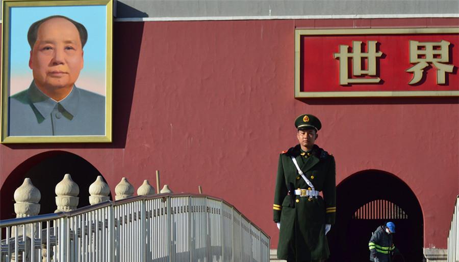 Galerie : les agents de sécurités pendant les deux sessions à Beijing