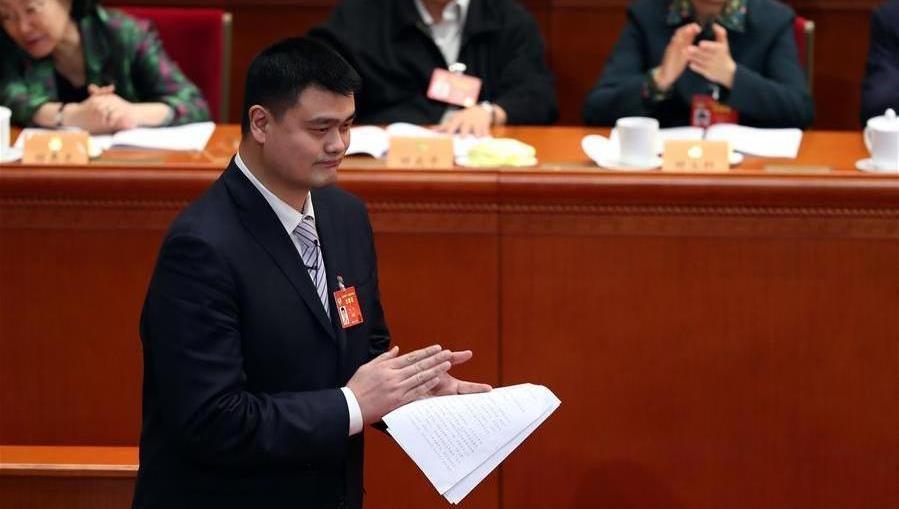 Yao Ming juge de meilleures ligues sportives essentielles pour que la Chine devienne une grande puissance du sport
