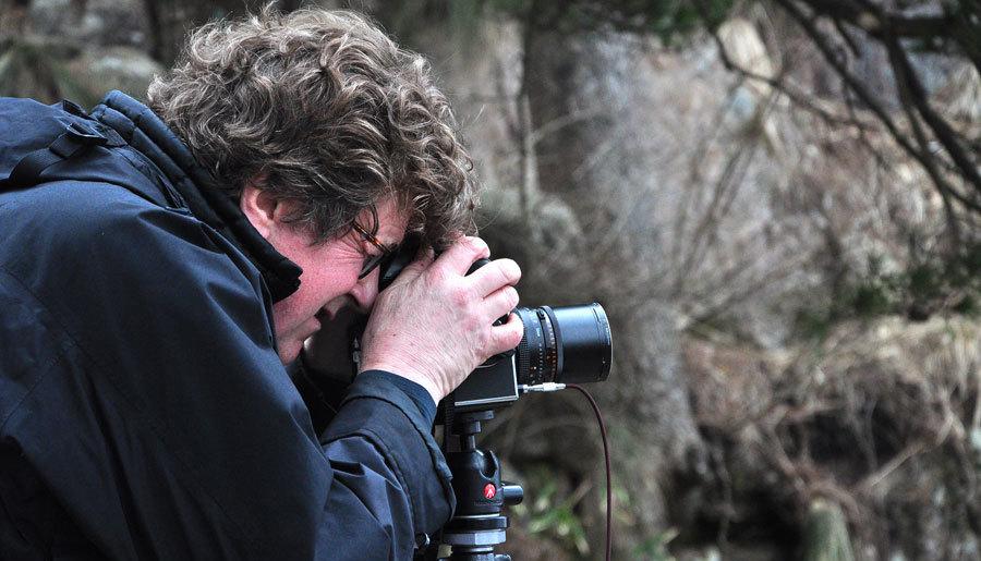 Le photographe américain Michael Kenna et ses œuvres sur le mont Huangshan