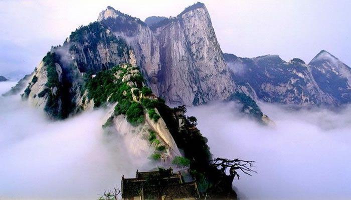 Galerie : les raides sommets du mont Huashan