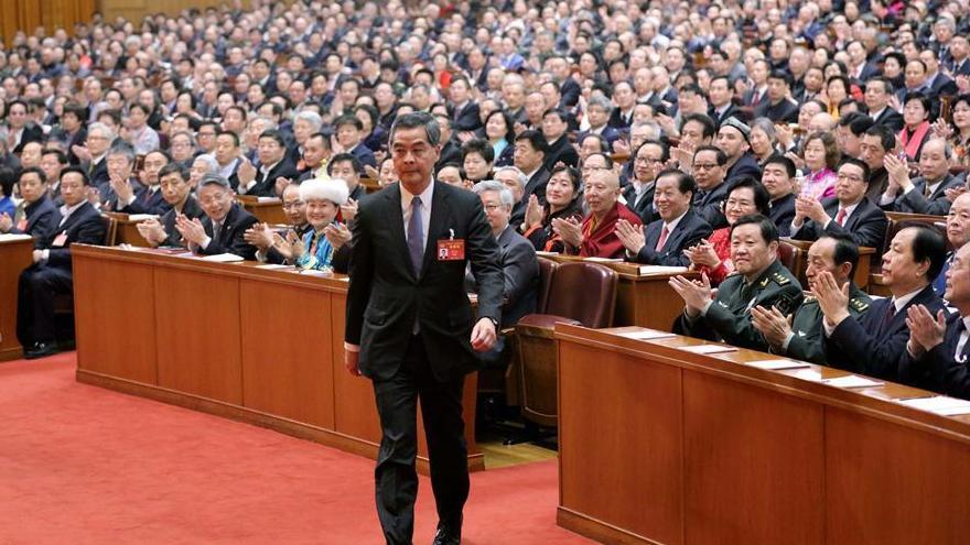 Leung Chun-ying élu vice-président du Comité national de la CCPPC